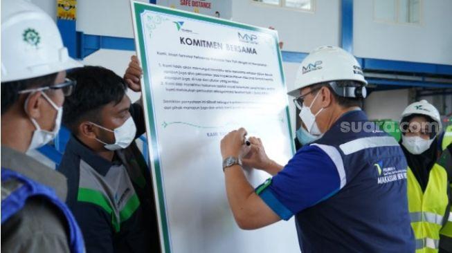 Cegah Pungli Pelabuhan Makassar, Pelindo IV Digitalisasi Pergerakan Peti Kemas