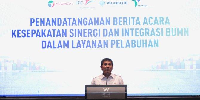 Serikat Pekerja Dukung Integrasi Pelindo